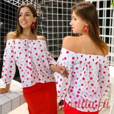 Стильная блузка | летняя коллекция крутых вещичек. Спеши быть первой! Скидка. Доставка.