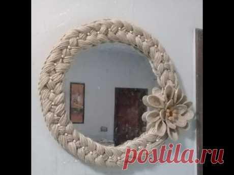 Handmade  mirror decoration - YouTube