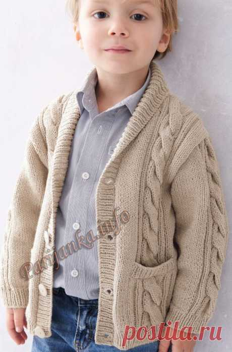 Jacket (d) of 06*141 Phildar No. 5016