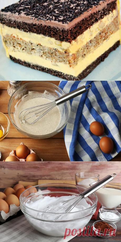 Торт «Огни Парижа» и рецепт чрезвычайно нежного заварного крема - Журнал для женщин