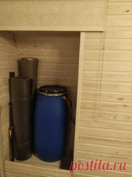 Вода в дачном доме зимой. Просто и бюджетно. | Усадебка | Яндекс Дзен