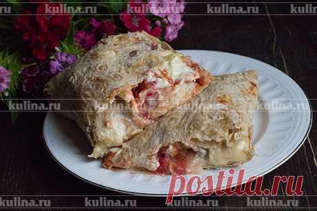Рулеты из лаваша с моцареллой и помидорами – рецепт приготовления с фото от Kulina.Ru