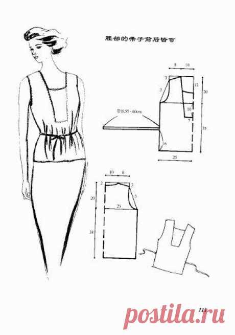 Идеи нарядов с выкройками из интернета.