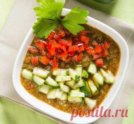Хит июня: холодный огуречный суп
