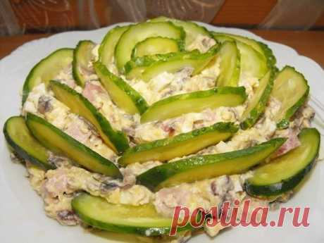 Как приготовить салат «изумрудный» - рецепт, ингридиенты и фотографии