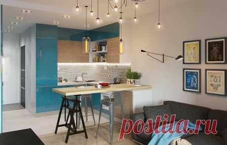Как обустроить маленькую кухню: 9 идей Чтобы небольшое пространство не казалось слишком тесным, можно объединить кухню с жилой комнатой, выделить ее цветом и даже спрятать в шкафу
