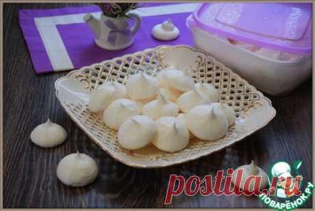 "Безе без яиц ""Аквафаба"" - кулинарный рецепт"