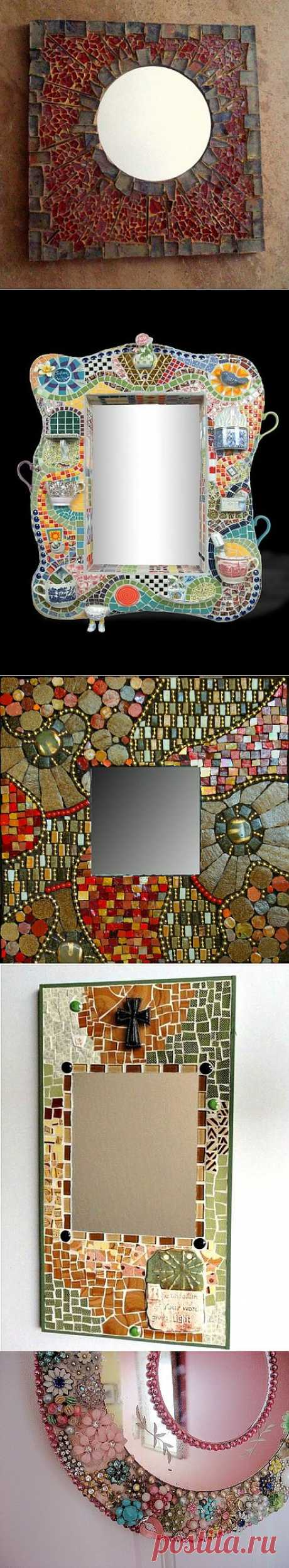 зеркала в интерьере (часть2 -мозаика).