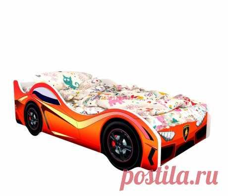 Кровать-машинка Классик Ламборджини: купить в Минске недорого, низкие цены, скидки, рассрочка