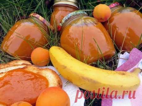 Джем из абрикосов, лимонов и бананов – такого не бывает даже в ресторанах!