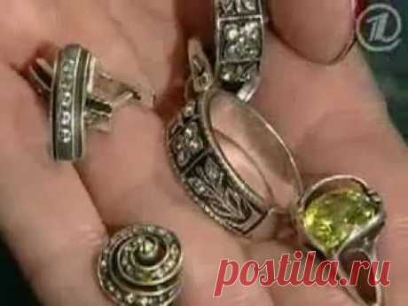 ▶ Чистка золота, серебра и меди в домашних условиях - YouTube