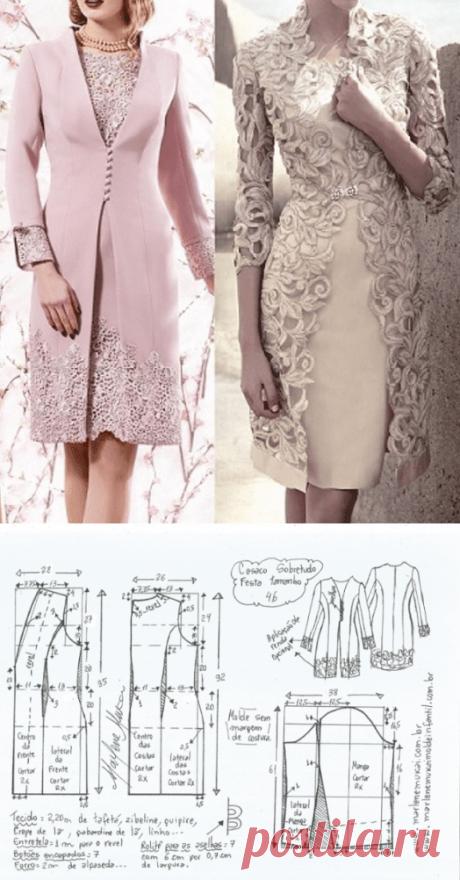 Выкройка шикарного платья