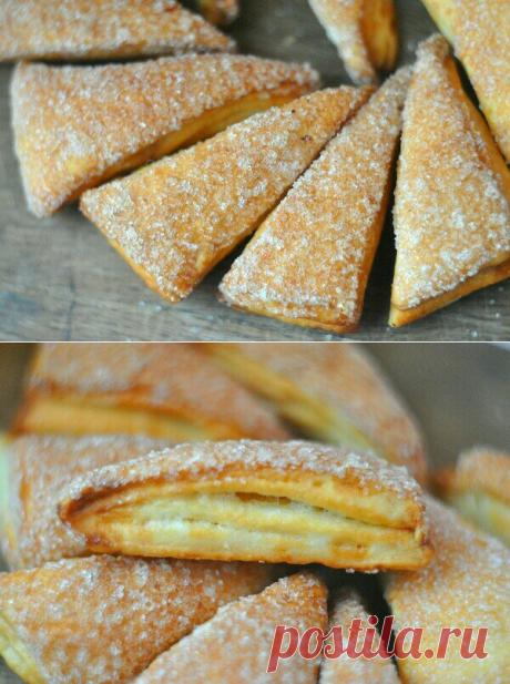 Слоёное печенье- очень вкусно и просто. | Домик на берегу поля | Яндекс Дзен
