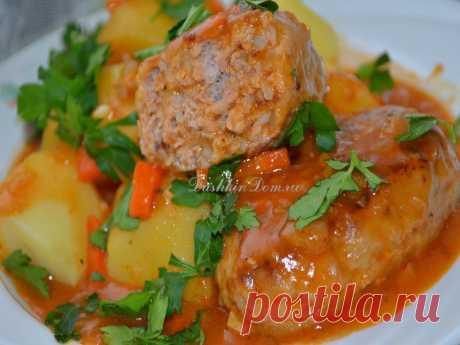 Гречаники в томатном соусе. Рецепт и пошаговые фото от Наташи Чагай.