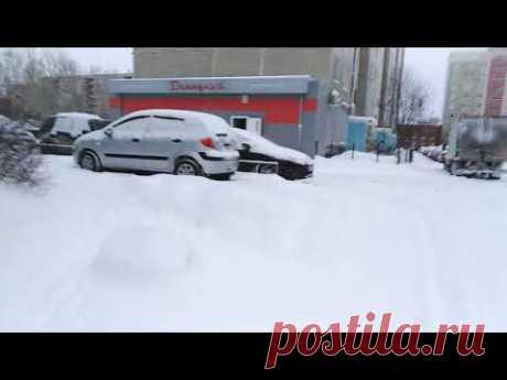 Завалило город снегом...