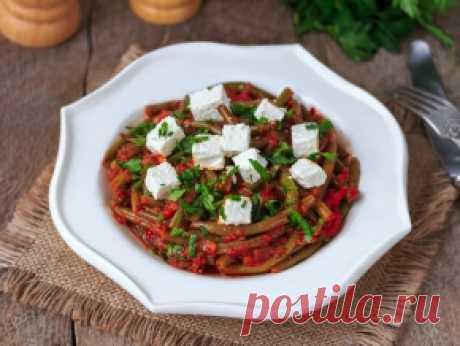 Стручковая фасоль в томатном соусе — рецепт с пошаговыми фото и видео