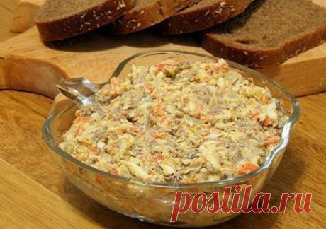 La ensalada con el hígado: ¡una Mejor variedad para la mesa solemne! \u000d\u000aEl hígado ingredienty:kurinaya — 300г3 de la zanahoria — 180г3 los bulbos — 150г3 del pepinillo en vinagre — 150г12 el art. de l. El maíz консервированной3 h. L. De girasol масла10 ch.l. El yogurt o la crema agria — 50г\u000d\u000aPrigotov …