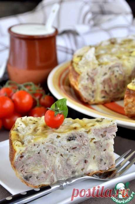 Рецепты к новому году. Быстрый мясной пирог в мультиварке - кулинарный рецепт - Антрекот - большая кулинарная книга