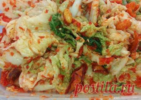 Кимчи - пошаговый рецепт с фото. Автор рецепта Светлана Сабитова . - Cookpad