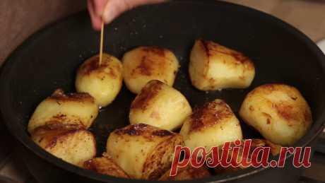 Бабушкин рецепт вкусной жареной картошки. Простой способ приготовления картофеля   IrinaCooking   Яндекс Дзен