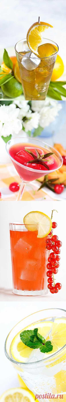 5 полезных летних напитков   Освежающие прохладительные напитки, которые еще и полезны для здоровья.