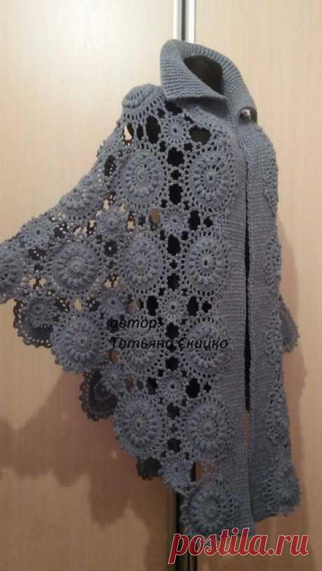 Оригинальное легкое пальто на позднюю весну и раннюю осень: идея для вдохновения — Сделай сам, идеи для творчества - DIY Ideas