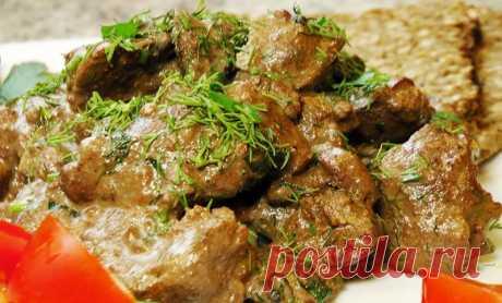 Самый вкусный рецепт приготовления мягкой, сочной и нежной печени!