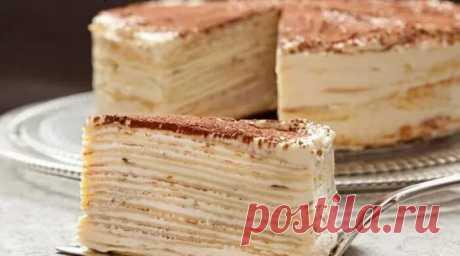 Торт «Kрепвиль» — Бабушкины секреты