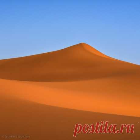 Минимализм марокканской Сахары в кадре Q-lieb-in: nat-geo.ru/community/user/52515