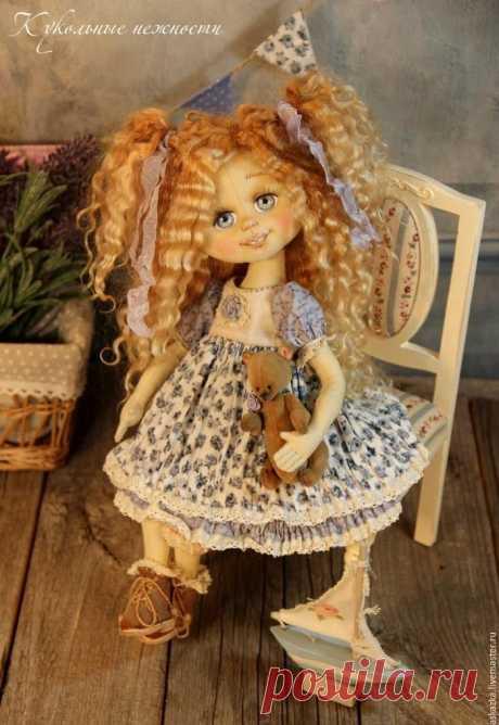 Мастер-класс: объемное лицо для куклы | all Dolls