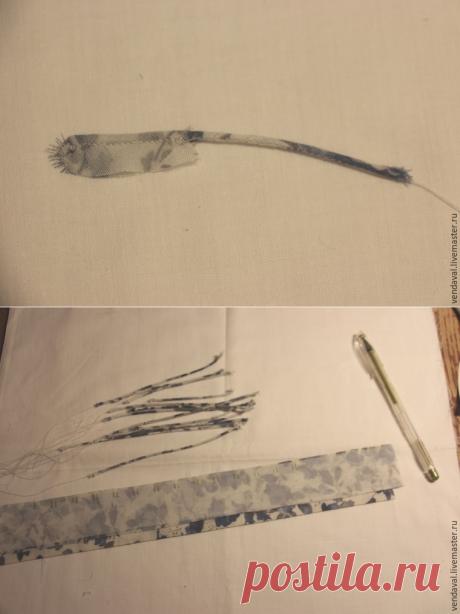 Изготавливаем вытачные рулики из ткани - Ярмарка Мастеров - ручная работа, handmade