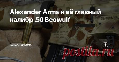 Alexander Arms и её главный калибр .50 Beowulf Основатель Alexander Arms – талантливый инженер Билл Александер. К 2000-м годам он уже зарекомендовал себя, как опытный оружейник, способный к изобретательству. Однако все его достижения были в малых калибрах. Ему захотелось чего-нибудь покрупнее. Калибр, в дальнейшем получивший название .50 Beowulf, появился не из-за какого-то контракта или меркантильного расчета, как это обычно бывает, а на волне личного интереса создателя. ...