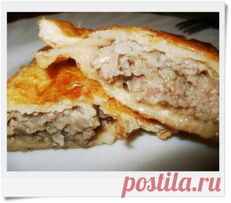Чебуреки из трех видов мяса рецепт с фото пошагово - 1000.menu