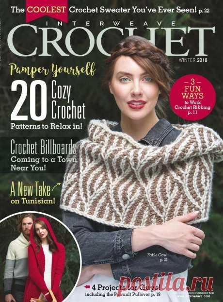 Interweave Crochet Winter 2018