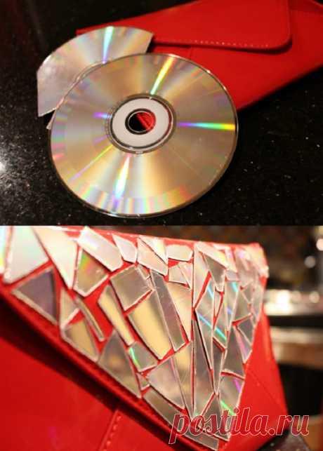 Поделки из дисков своими руками: 95 фото ярких идей и мастер-класс создания дисков