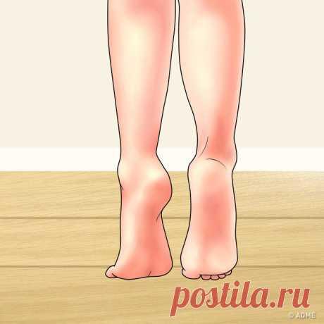 Упражнения, которые помогут снять усталость и боль в ногах / Все для женщины