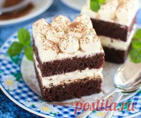 Сливочное Пирожное - так вкусно, что невозможно устоять. Вкусно и просто. | Блоги о даче и огороде, рецептах, красоте и правильном питании, рыбалке, ремонте и интерьере