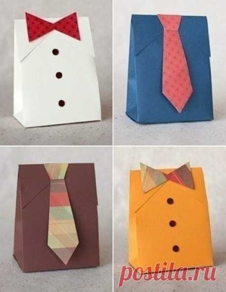 Схемы оригами для упаковки мужских подарков