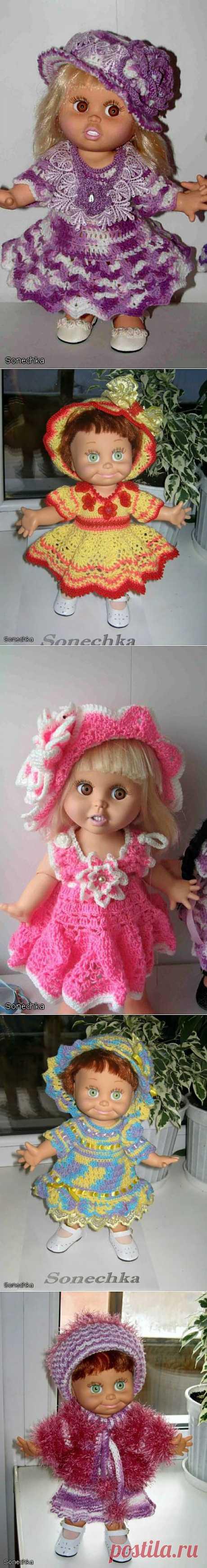 (+1) - Мое хобби - вязание для кукол | Очумелые ручки