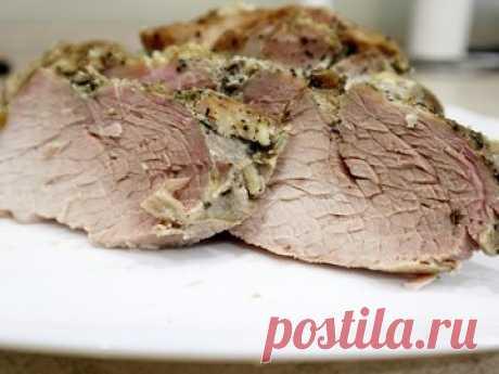 Запеченная свинина в фольге - простой и вкусный рецепт с пошаговыми фото