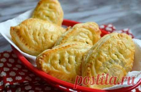 Рецепт очень вкусных воздушных пирожков с курицей