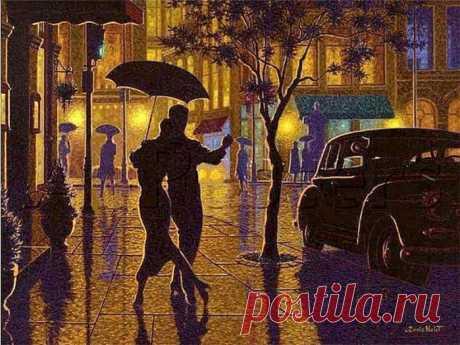 "Танго ""Дождь идёт"" (Il pleut sur la route). История одной песни."