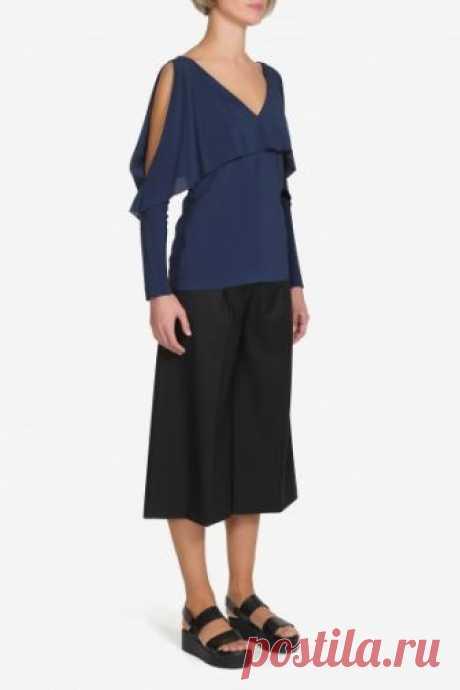 Официальный интернет магазин VASSA&Co - Женская коллекция - Блузка V186364N-1323C67