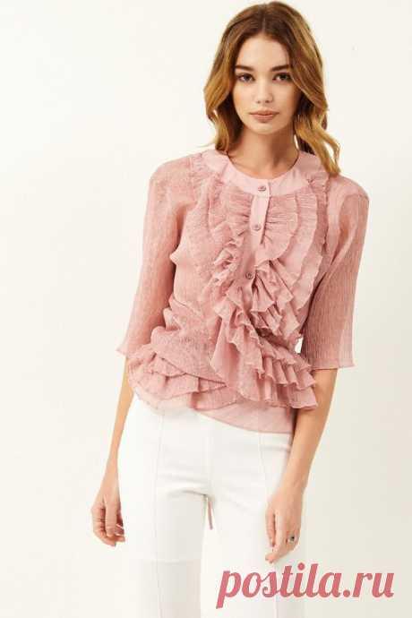 32 блузки с изюмом (подборка) Модная одежда и дизайн интерьера своими руками