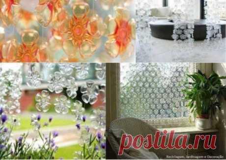 ➤ Поделки из пластиковых бутылок: дом, теплица, забор, мебель, цветы, абажур (65 фото) | ☛ Женский журнал