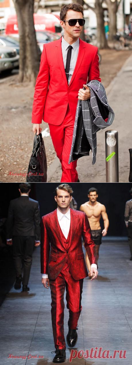 Альфа-джентльмены в красном покоряют сердца женщин всего мира