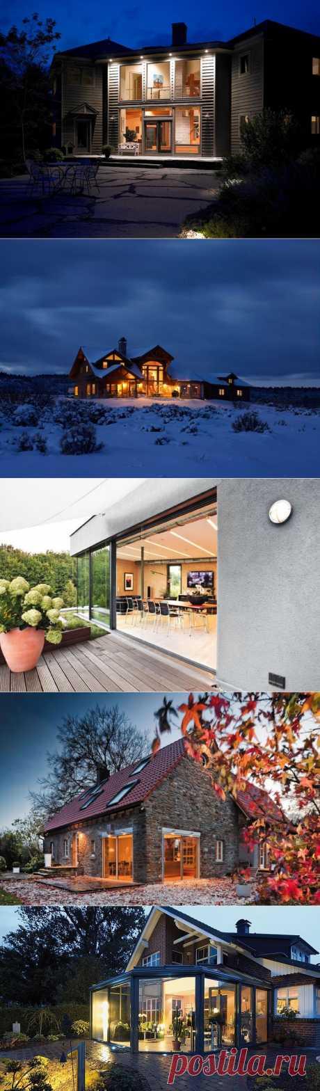 Остекленные веранды, террасы и стены дома./ LiveInternet