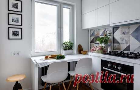 Уютные кухни площадью до 7 квадратов — INMYROOM