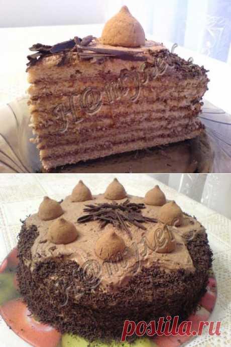 Прошу К Столу - Трюфельный торт От Н@тулек