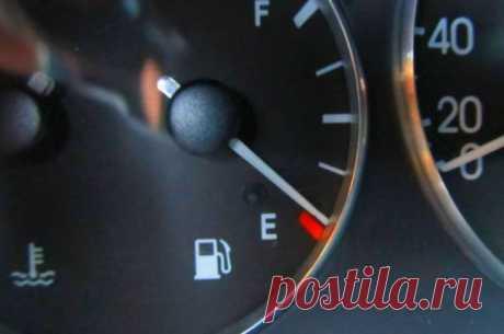 """На сколько хватит бензина, если горит лампочка? - журнал автоновостей """"Мой Мотор"""""""